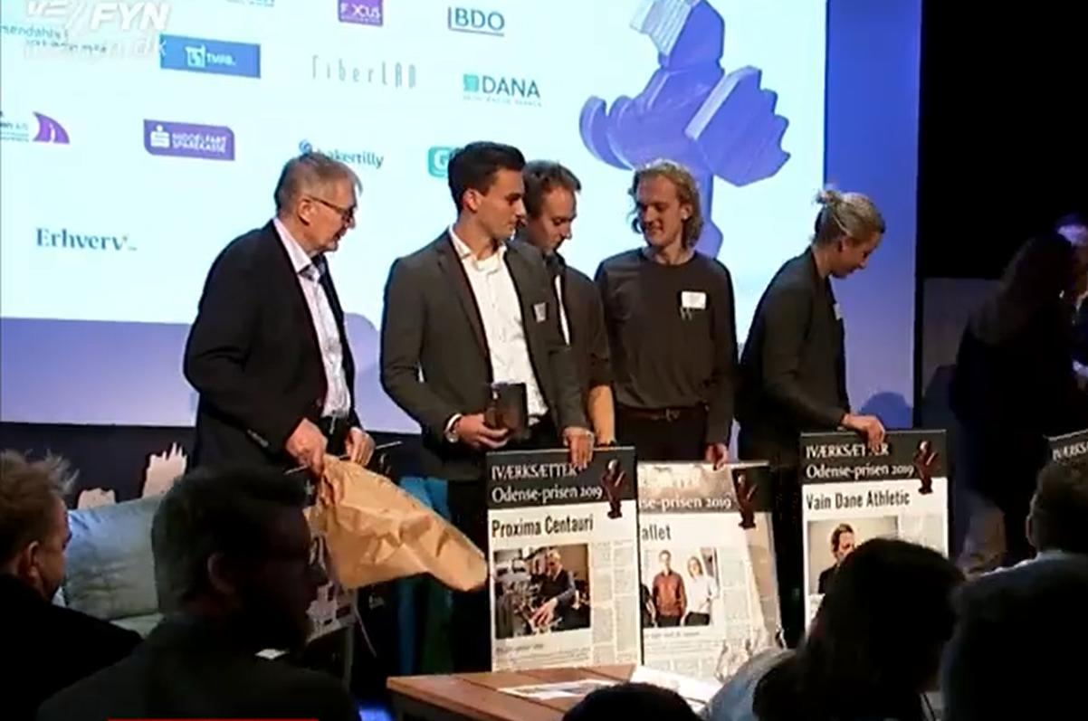Proxima Centauri awarded the IværksætterOdense prize